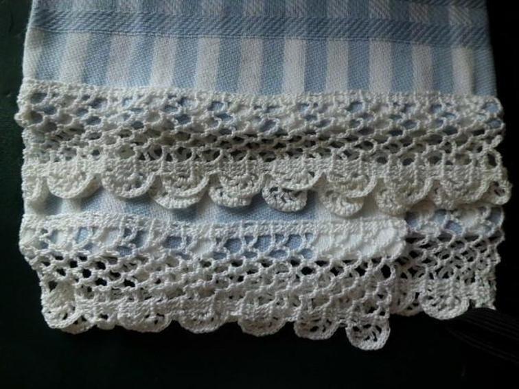 fanlight crocheted edging