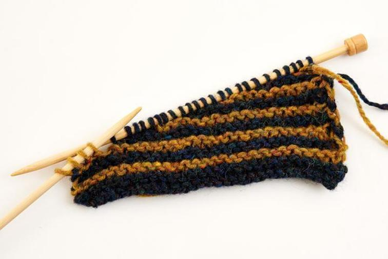 Short Rows in Knitting