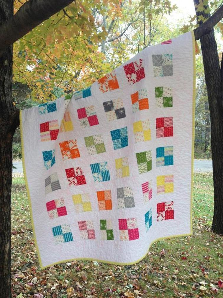 Just Four Fun Quilt Pattern