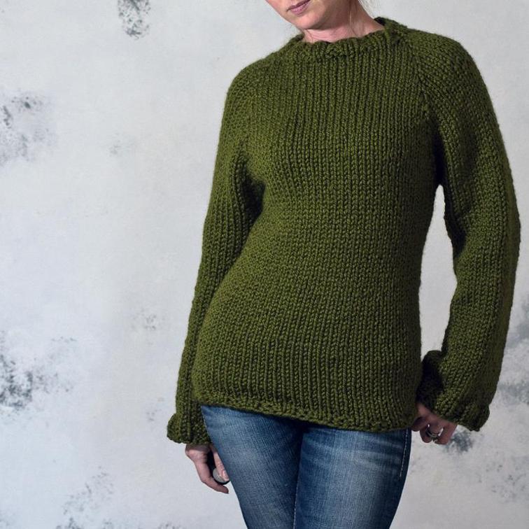 Knit Sweater Prudence Pattern