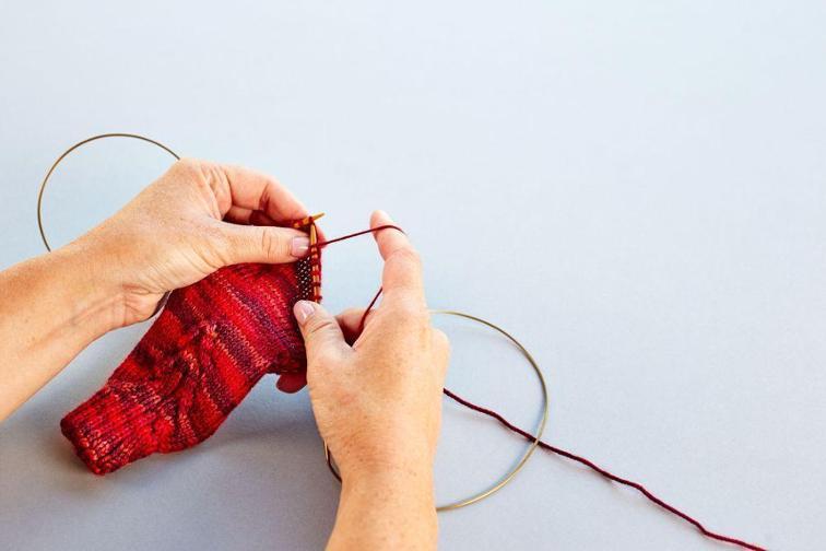 Knitting Magic Loop