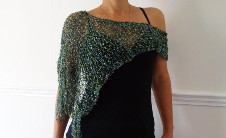 Party Glitter Cover-Up Knitting Pattern