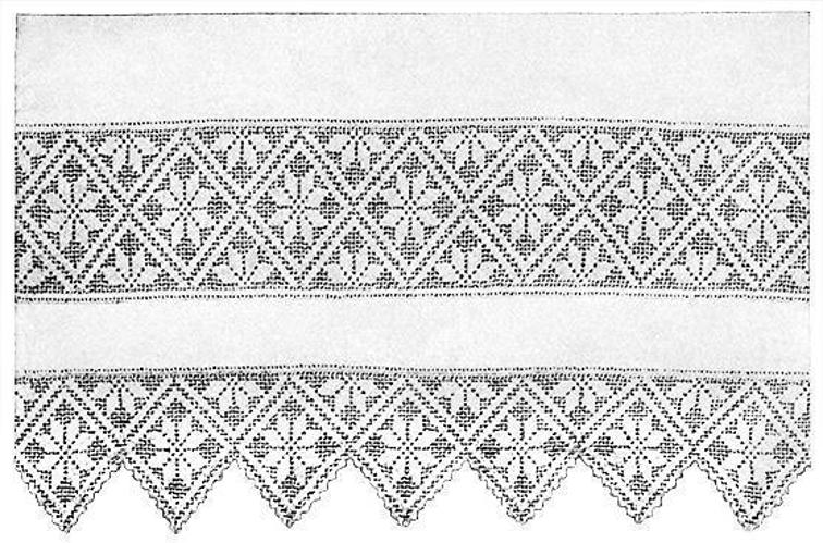 Lacy Crochet Trim