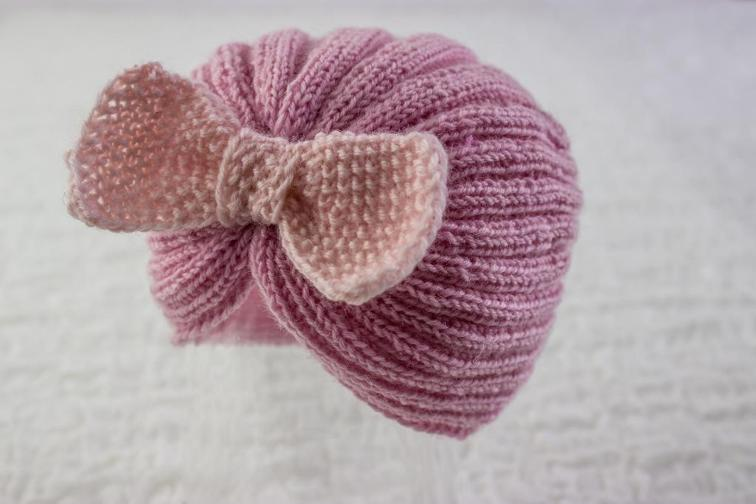 Retro Cloche with Bow Knitting Pattern