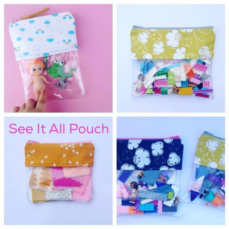 see it all pouch
