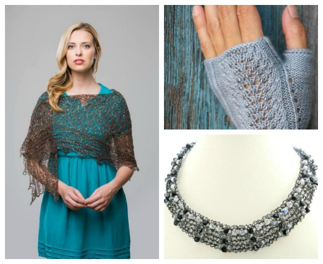 Sparkly Holiday Knitting Patterns