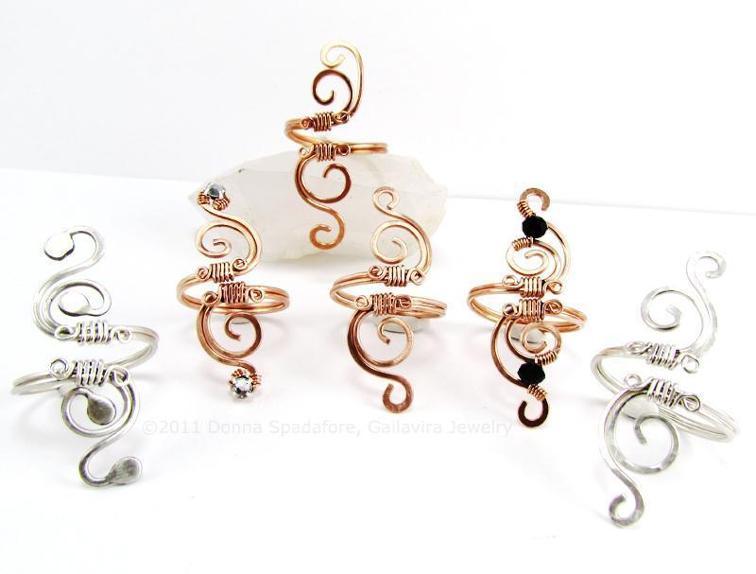 Adjustable Swirl Ring