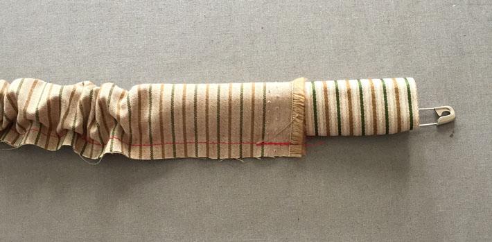 stitch neckband channel