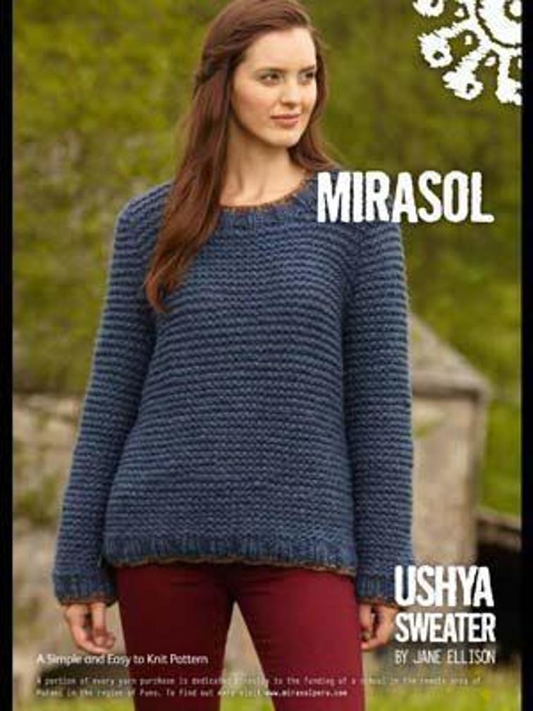 Ushya Sweater Knitting Pattern