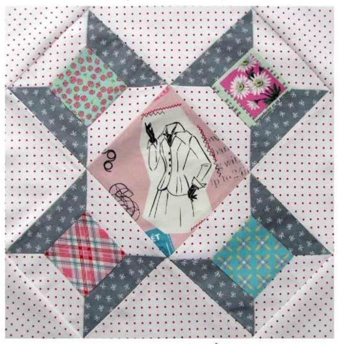 Vintage Quilt Block