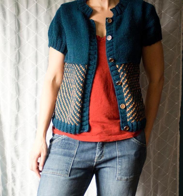 Vintage Cottage Cardigan Knitting Pattern