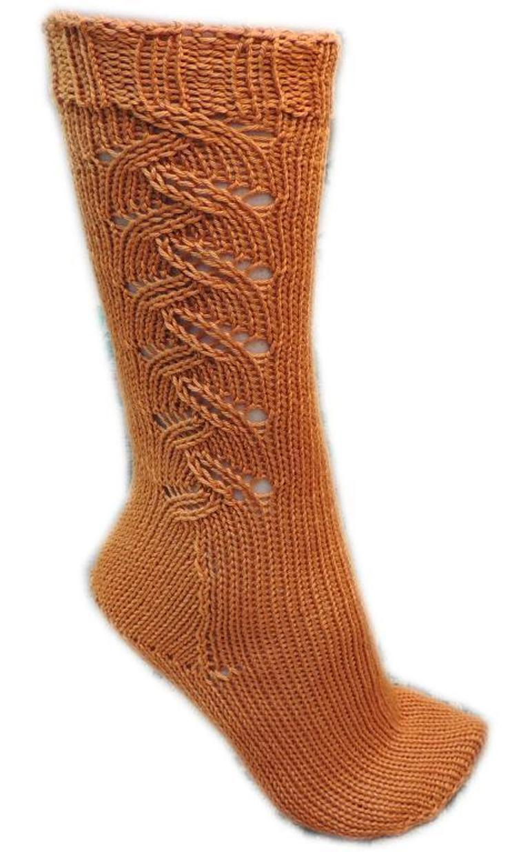 Ziggy's Toe-Up Socks FREE Knitting Pattern