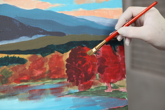 Painting a Fall Landscape
