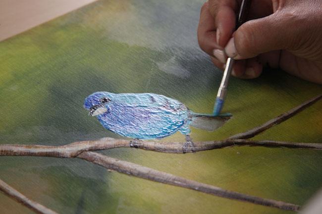 Painting a Bird