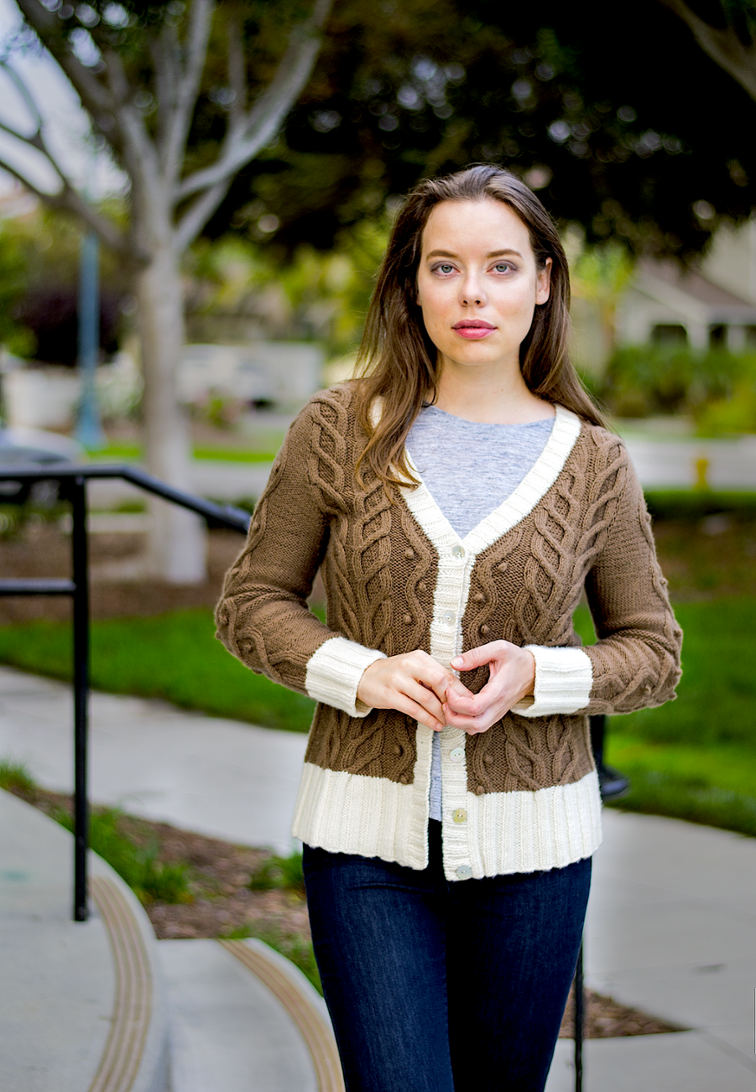 Brails Cardigan Knitting Pattern