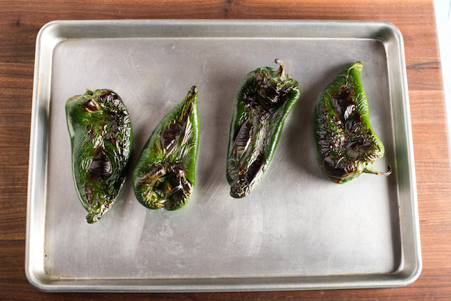 Charred Chile Peppers