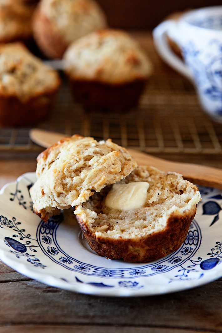 Easy Banana Nut Muffins