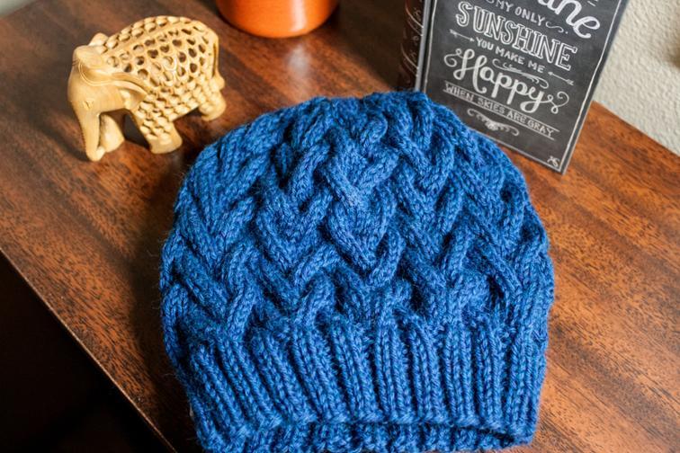 Hammer Cap Knitting Pattern