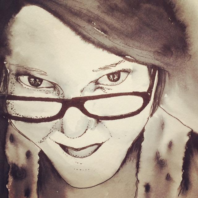 Kateri Ewing Self Portrait