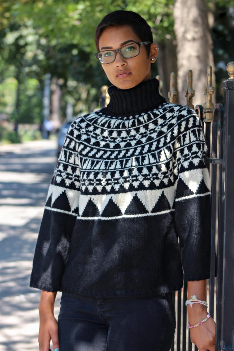 Janae Pullover Knitting Pattern