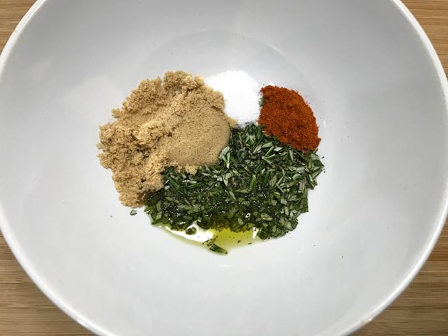rosemary TOSS mix
