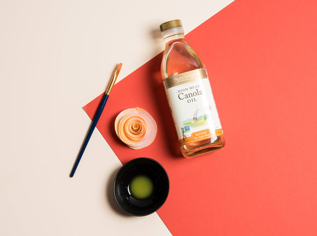 #CraftSavvy Tip No. 6: Make your edible paint out of canola oil for longer lasting results on fragile surfaces like wafer paper.