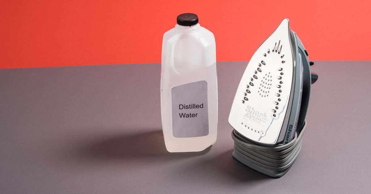 #CraftSavvy Tip No. 8: Prolong the life of your iron by using distilled water.