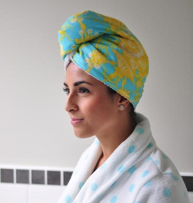 Towel Head Wrap Sewing pattern