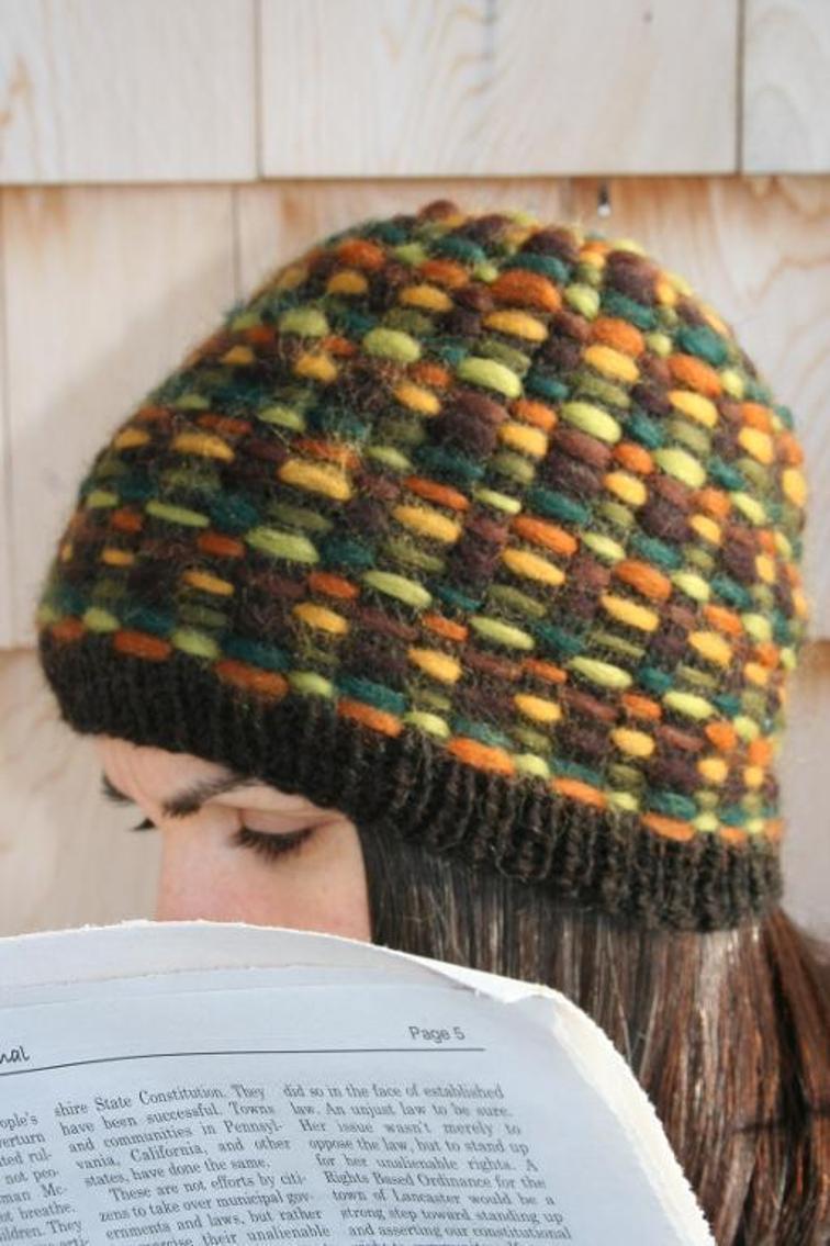 Atlantis Roving Hat Knitting Pattern