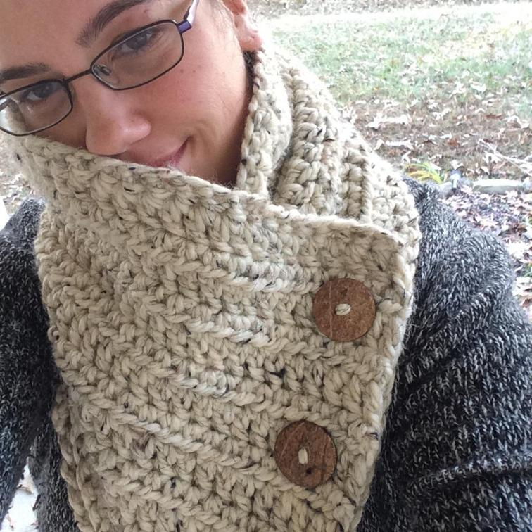 Bridgitt Cowl Crochet Pattern