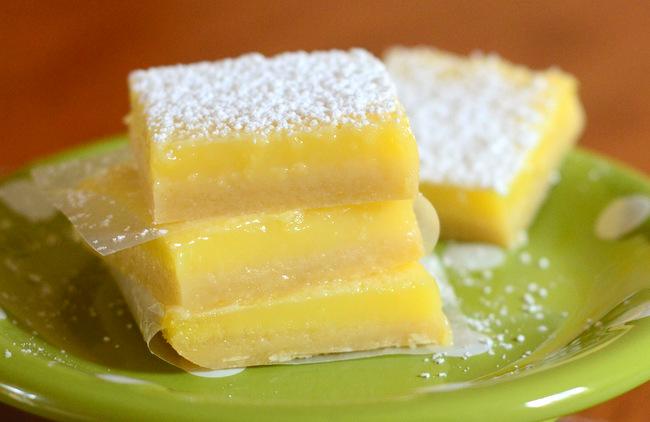 Baking Bites' Sour Cream Lime Bars