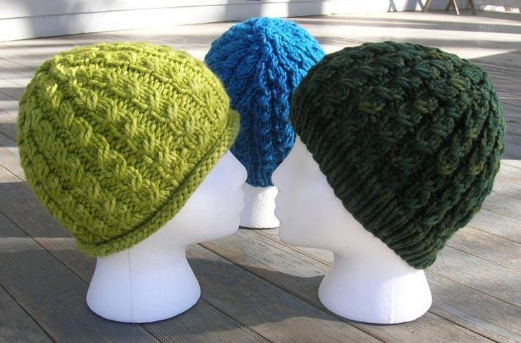 Chunky Dean Street Knit Hat