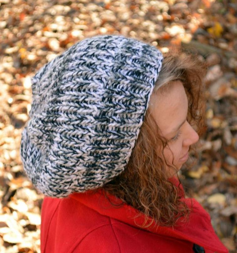 Claudia's Bulky Slouchy Hat Knitting Pattern