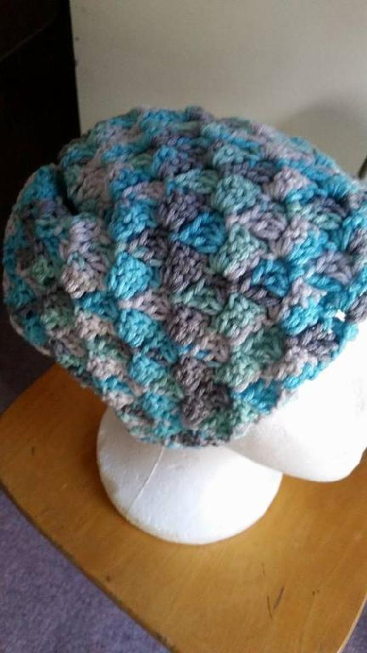 Corner to Corner Crochet Hat
