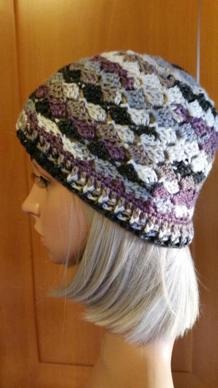 C2C Crochet Hat Pattern