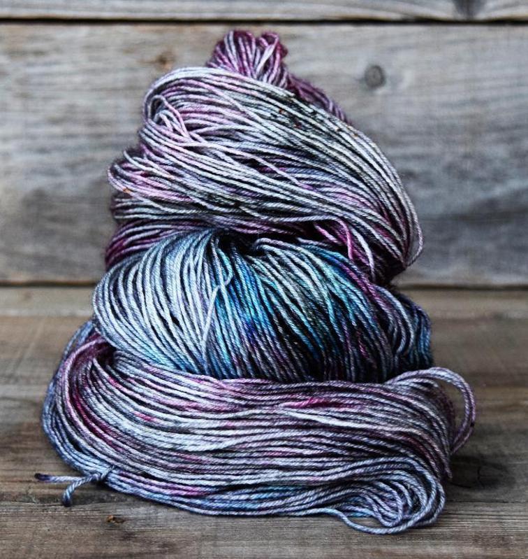 Dark Days Hand-Dyed Yarn