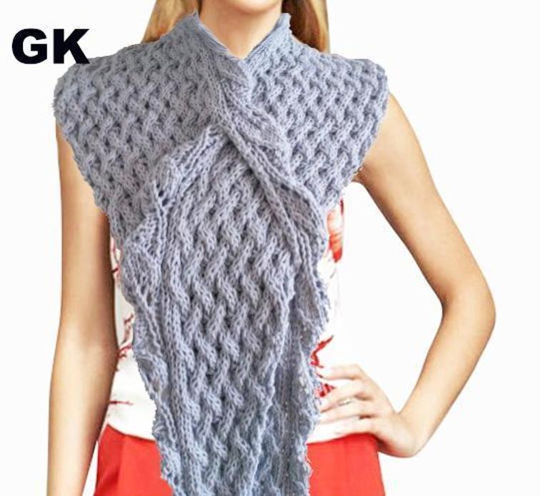 Giezen Scarf Knitting Pattern