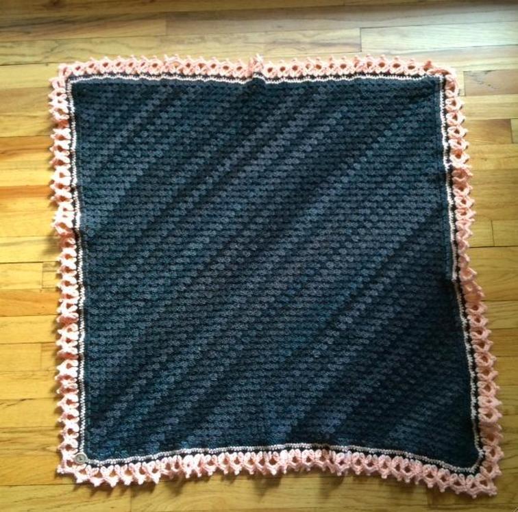 Corner to Corner Granny Blanket