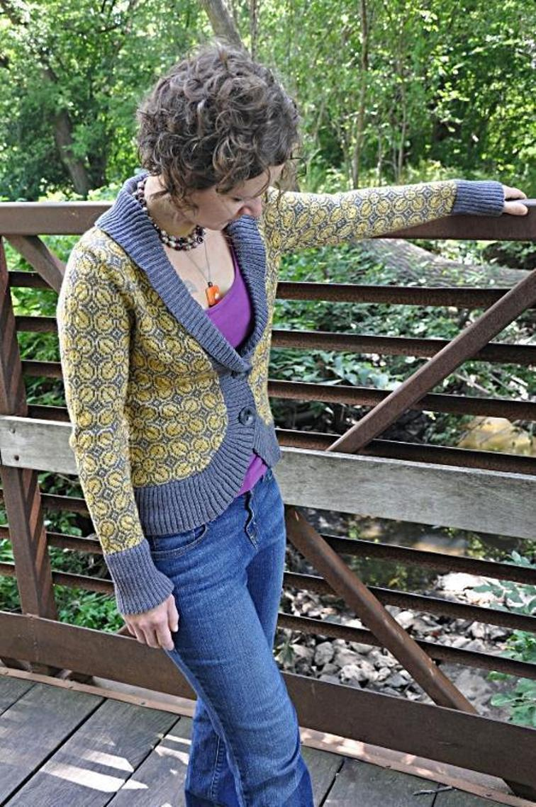 Grellow Cardigan Knitting Pattern
