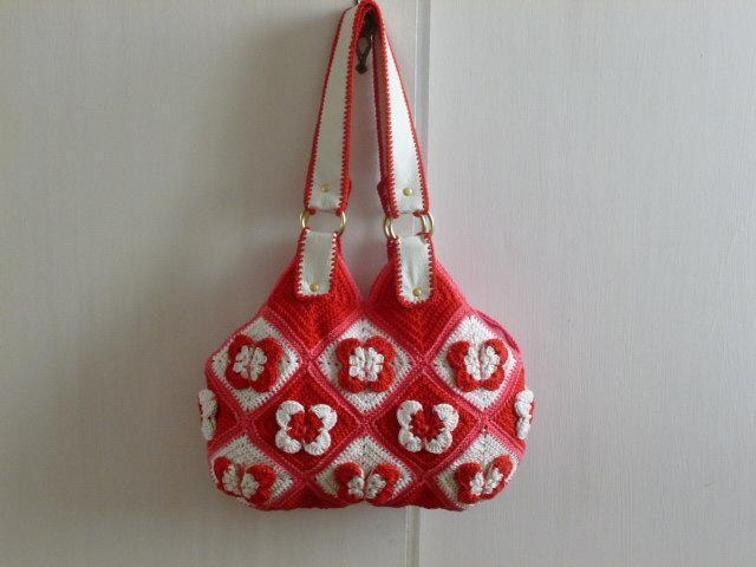 Handbag Barboletta FREE Crochet Pattern