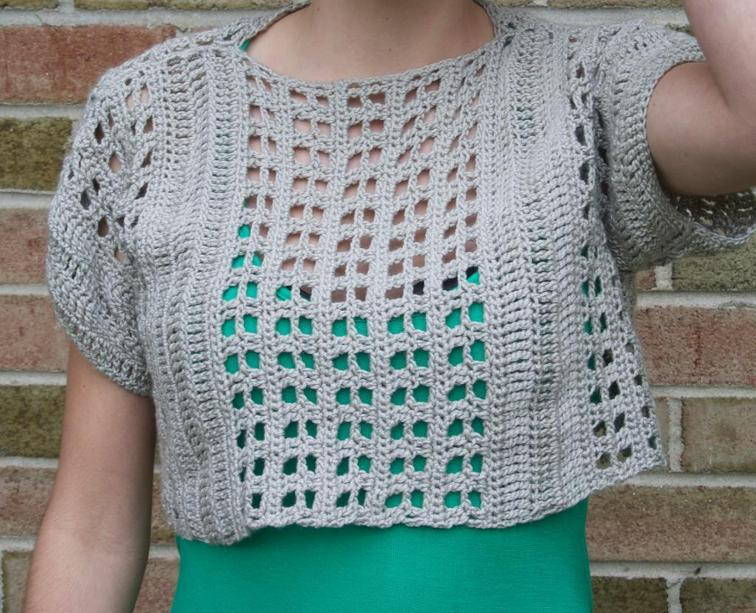 Homecoming Sweater Crochet Pattern