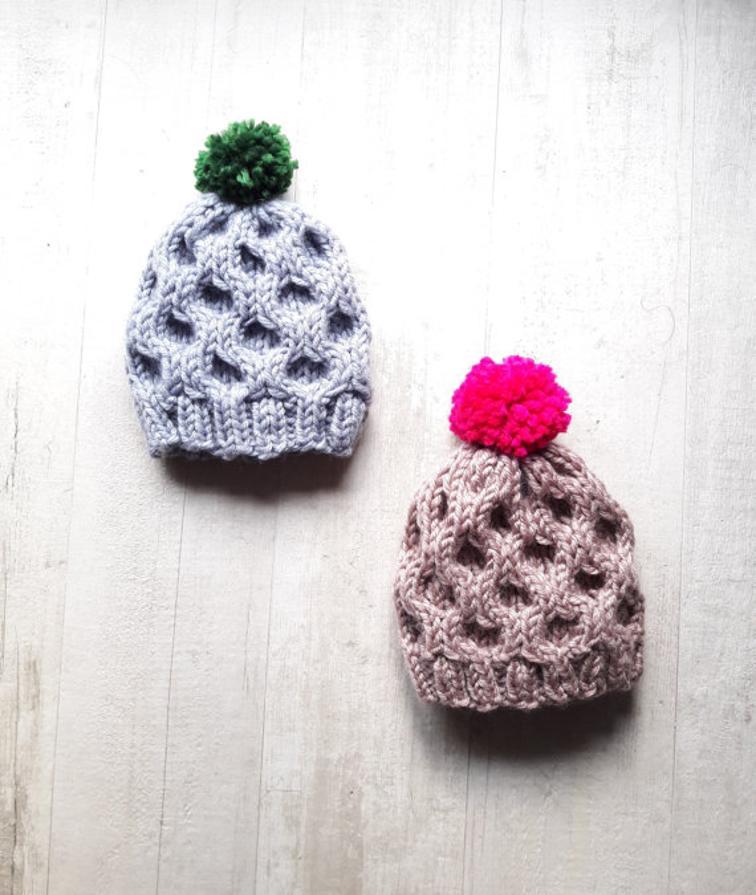 Candyfloss Hat Knitting Pattern
