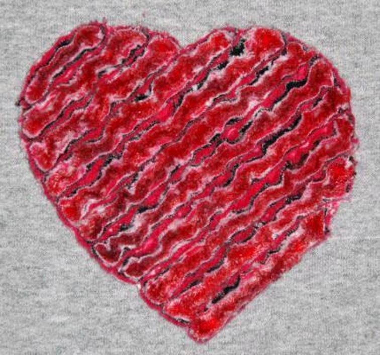 In the Hoop Chenille Hearts