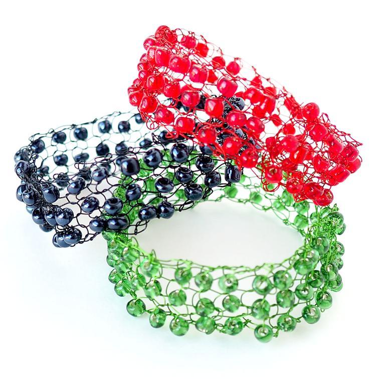knit-with-wire-bracelets