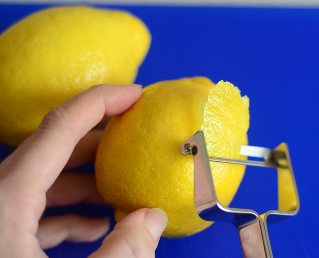 How to Zest a Lemon (without a zester!)