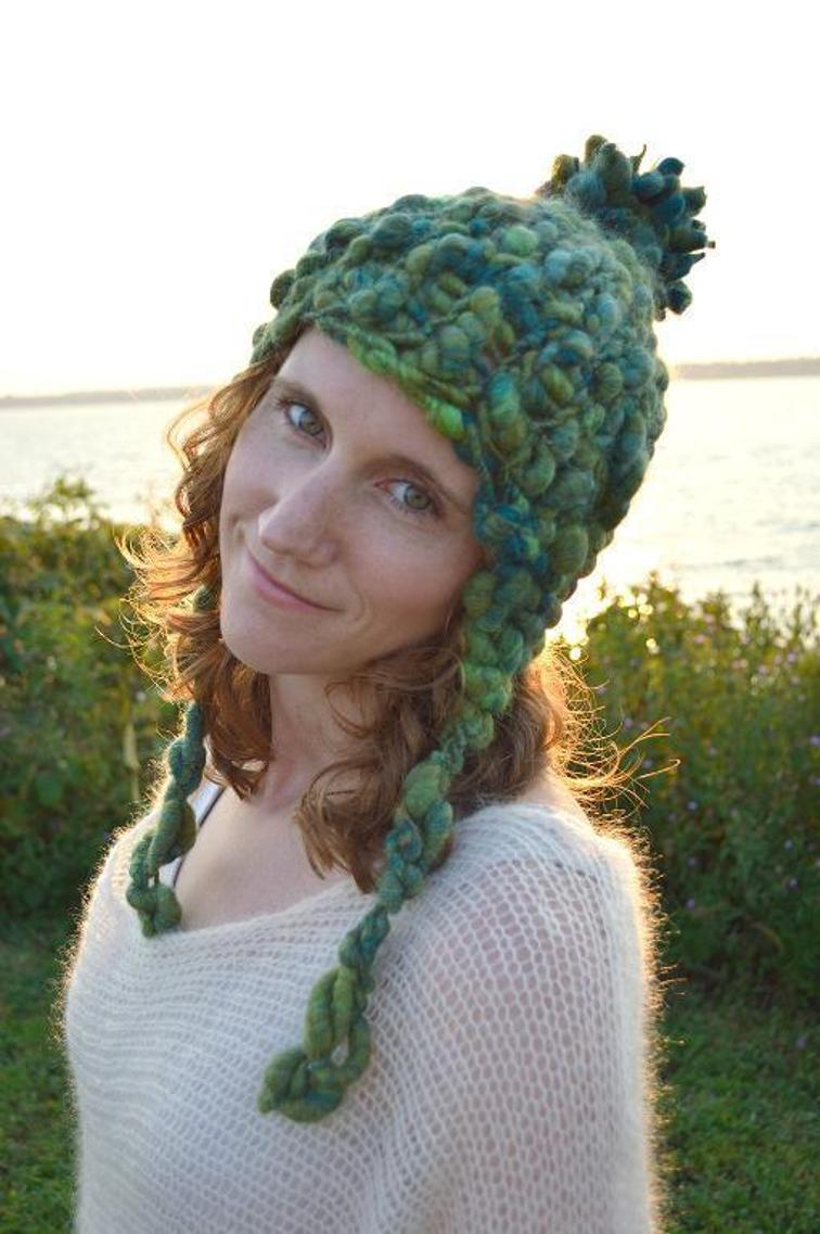 Pixie Dust Earflap Hat Knitting Pattern