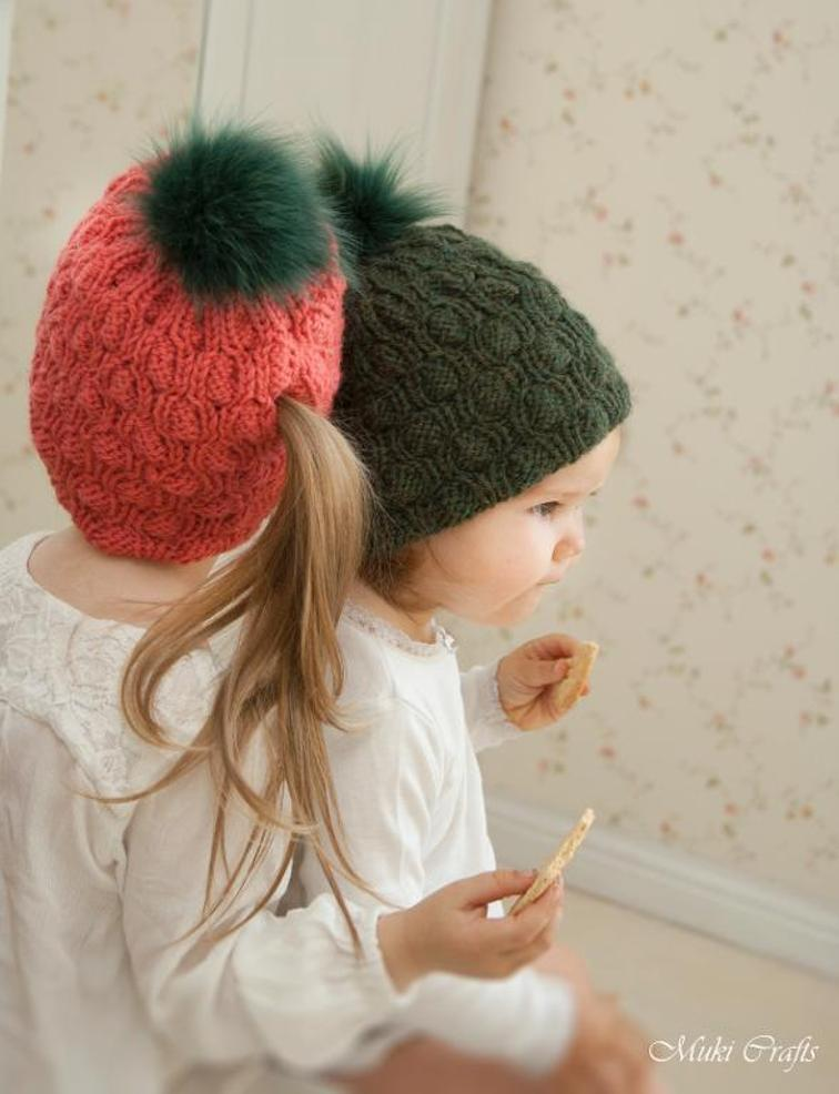 Ponytail Hat Abbey Knitting Pattern