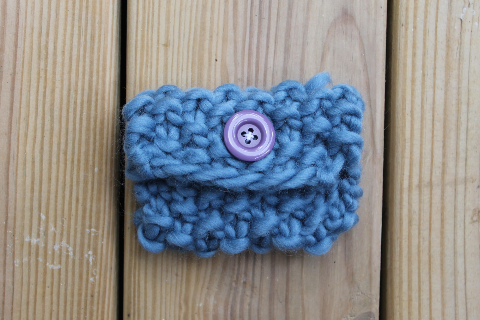 Seed Stitch Gift Card Holder