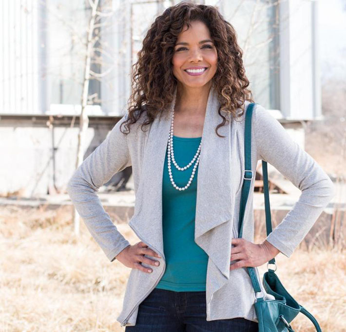 StyleArc marie jacket kit in grey