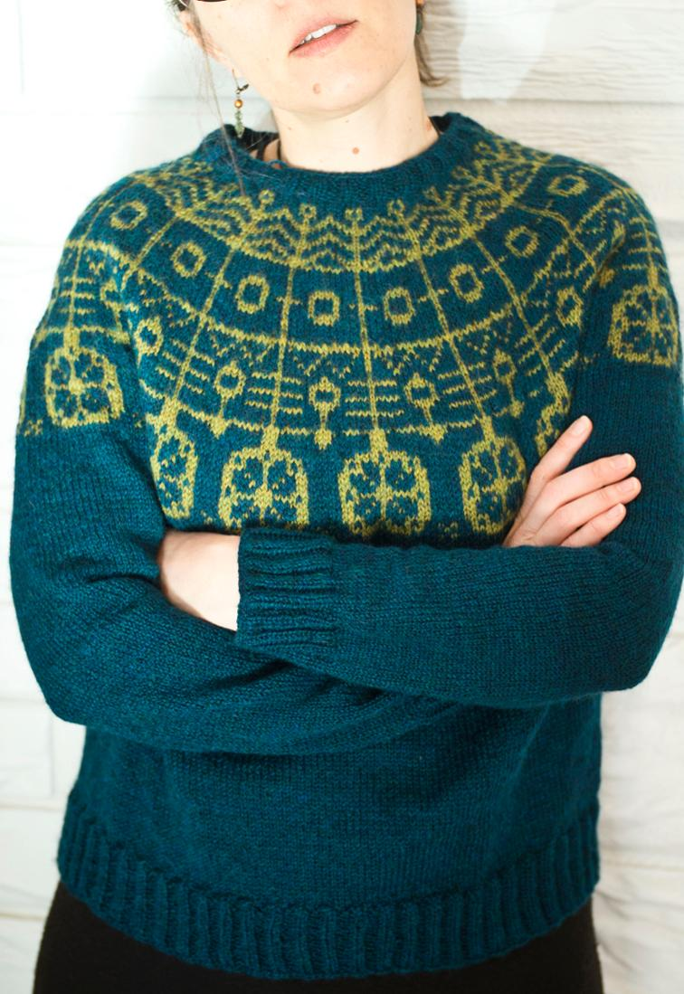Take Flight Sweater Knitting Pattern
